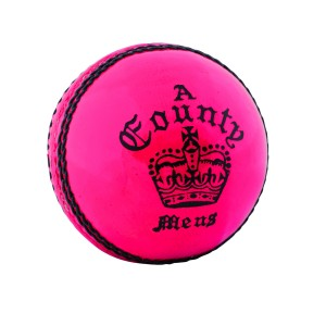 A021 Readers County Crown Pink Cricket Ball