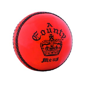 A023 Readers County Crown Orange Cricket Ball